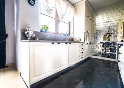 Zdjęcie z realizacji kuchni od Mobiliani Design.