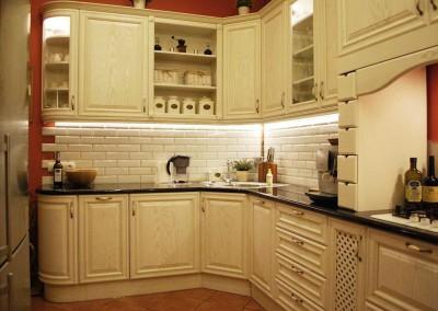 Realizacja wnętrza kuchni w stylu prowansalskim