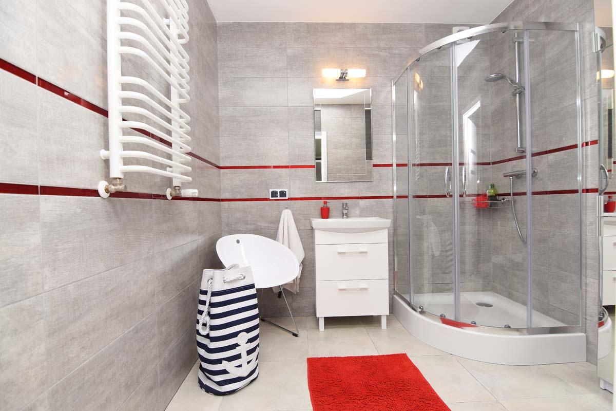 Gotowa aranżacja wnętrza łazienki