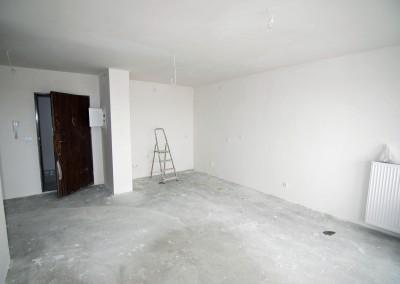 Stan deweloperski apartamentu - ściany, sufit, podłoga