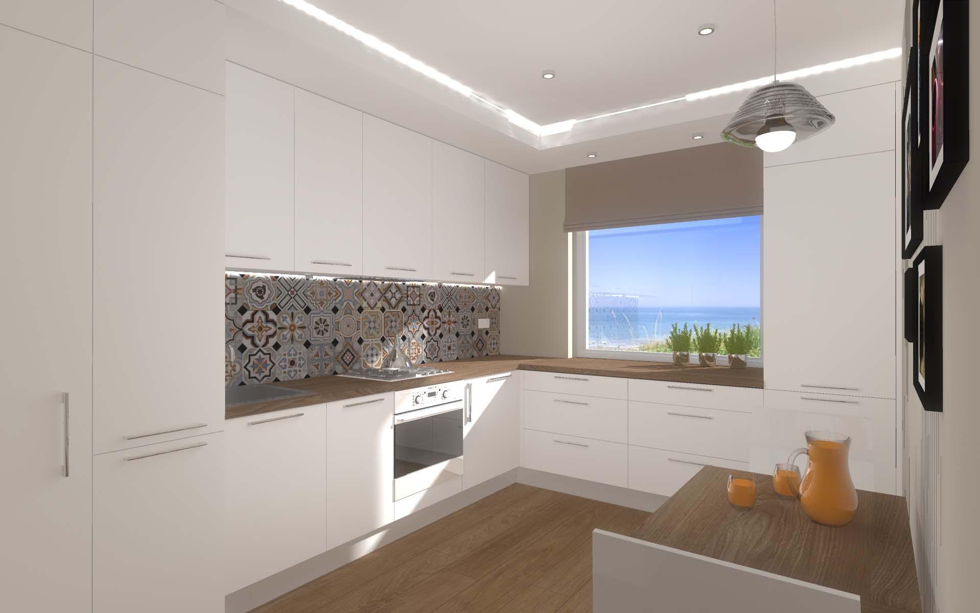 Projekt wnętrza kuchni w Bydgoszcz  Mobiliani Design -> Kuchnia W Bloku Zdjecia