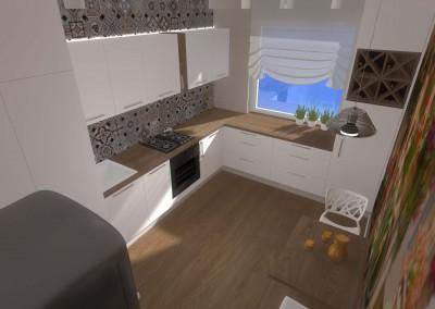 Kuchnia w projekcie architektów z Mobiliani Design.