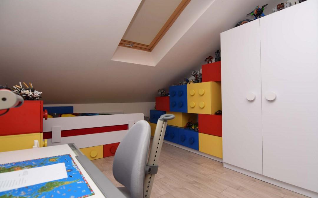 Pokój dla 6-latka w apartamencie w Bydgoszczy