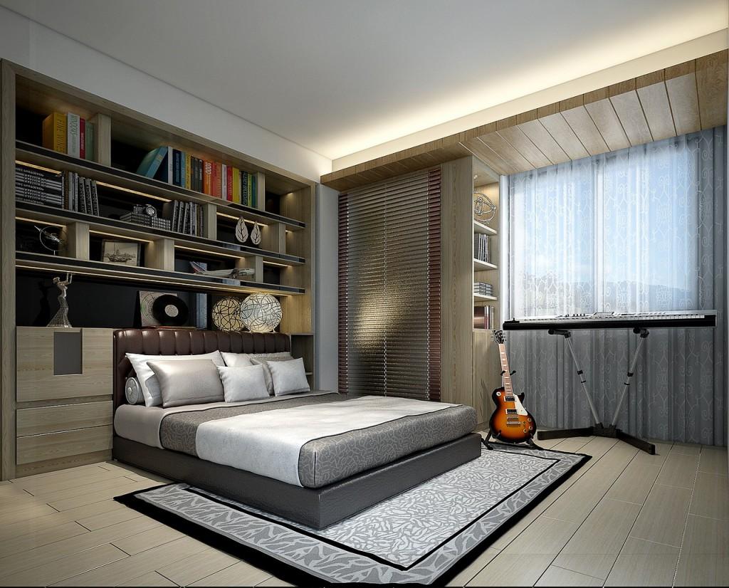 Sypialnia na zdjęciu z realizacji z projektu wnętrza - Mobiliani Design, Bydgoszcz.