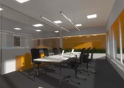 Aranżacja nowoczesnej sali konferencyjnej - Mobiliani Design.