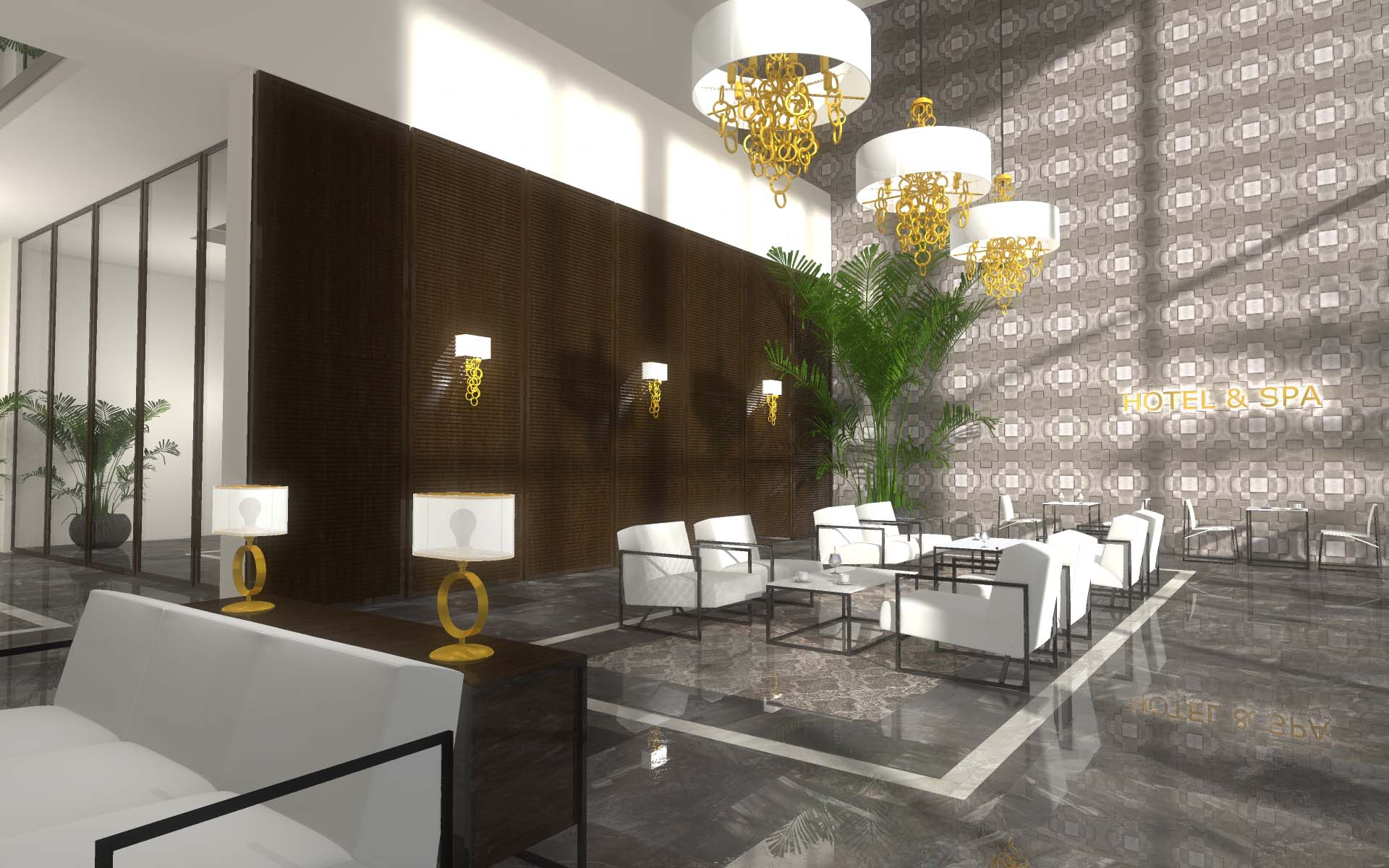 Projektowanie wnętrz hotelu