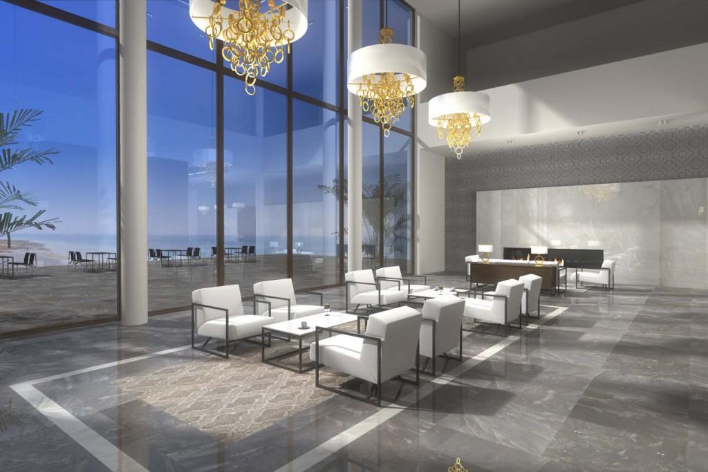 Wnętrze w luksusowym hotelu - projekt Mobiliani Design z Bydgoszczy.