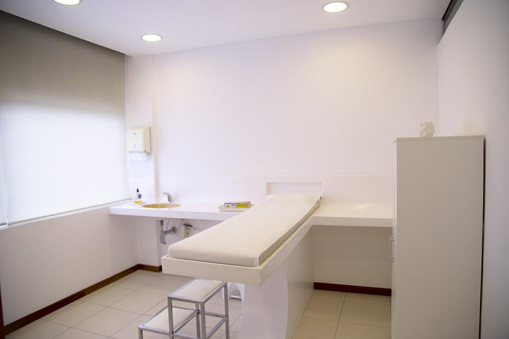 Projektowanie wnętrza gabinetu lekarskiego.