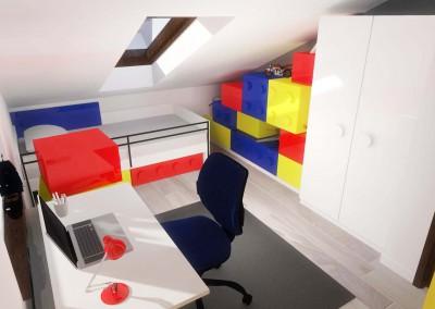 Designerski pokój dla dziecka - Mobiliani Design, Bydgoszcz.