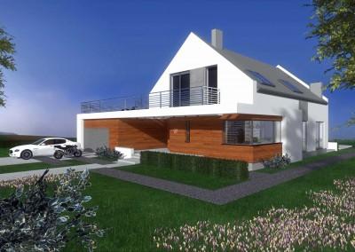 Dom wraz z ogrodem
