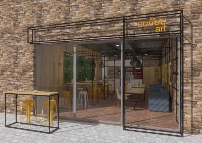 Coffee Art - autorski projekt wnętrza od Mobiliani Design.