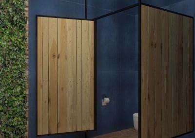 Aranżacja toalety męskiej - Mobiliani Design.