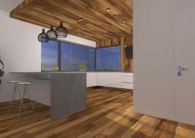 Projekt i aranżacja kuchni, które zawierają meble wykonane na wymiar