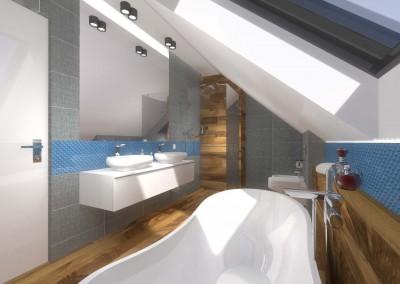 Widok wnętrza łazienki