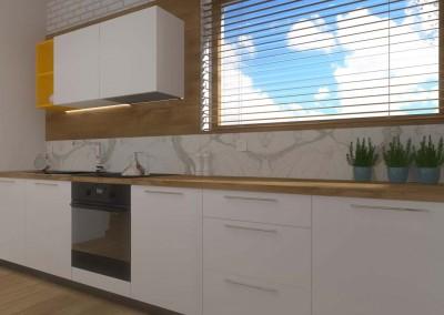 Kuchnia w projekcie wnętrza od Mobiliani Design, Bydgoszcz.