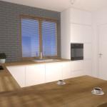 Ponadczasowa kuchnia w projekcie wnętrza Mobiliani Design.