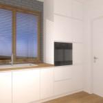 W projekcie i aranżacji założono nowoczesne, pełne udogodnień meble.