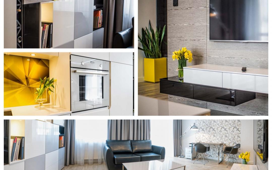 Projektowanie wnętrz oraz realizacje pod klucz nowych apartamentów