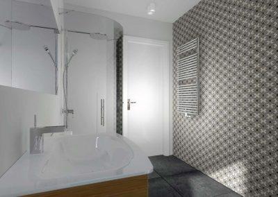 Profesjonalne projektowanie wnętrz Mobiliani Design - łazienka.