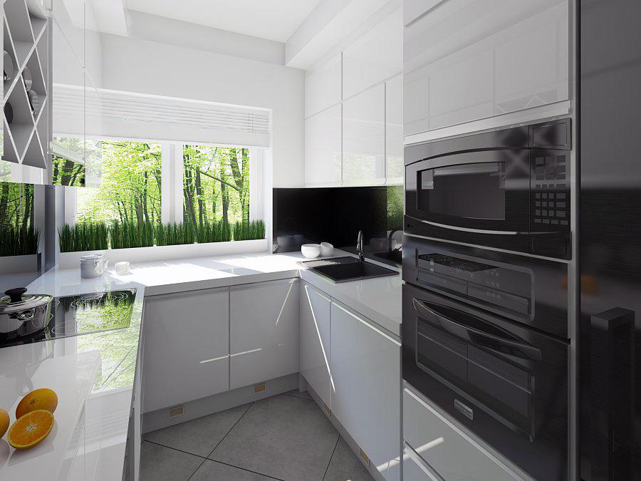 Kuchnia w stylu White Chocolate  Mobiliani Design Bydgoszcz -> Projekt Kuchni Duzej
