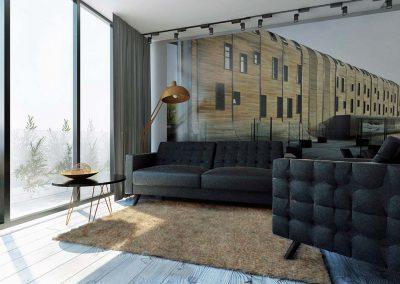 Projektowanie mieszkań w Nordic Haven w Bydgoszczy.