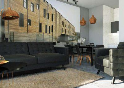 Mieszkanie w Nordic Haven od Mobiliani Design.