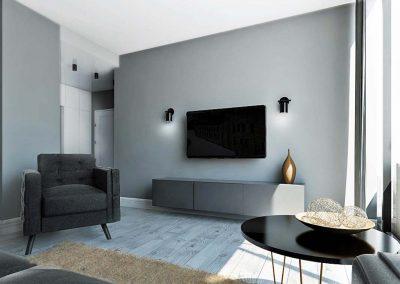 Apartamenty w Nordic Haven.