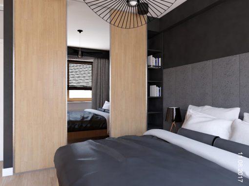 Aranżacja sypialni w domu jednorodzinnym