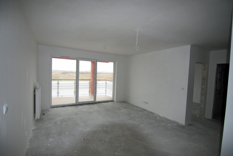 Stan surowy apartamentu