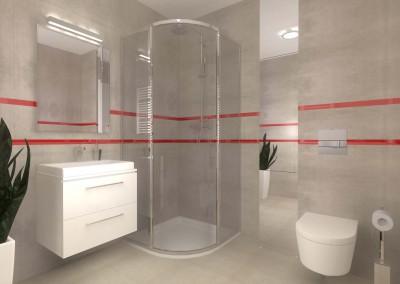 Dodatkowa opcja w aranżacji stylowej łazienki w projekcie wnętrza Mobiliani Design.