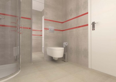 Prezentacja projektu wnętrza nietypowej toalety zaprojektowanej przez Mobiliani Design.