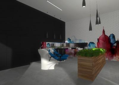 Projekt z myjkami dla Klientów salonu - Mobiliani Design.