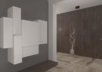 Nowoczesne szafki wykonane na wymiar - wnętrze domu w Bydgoszczy