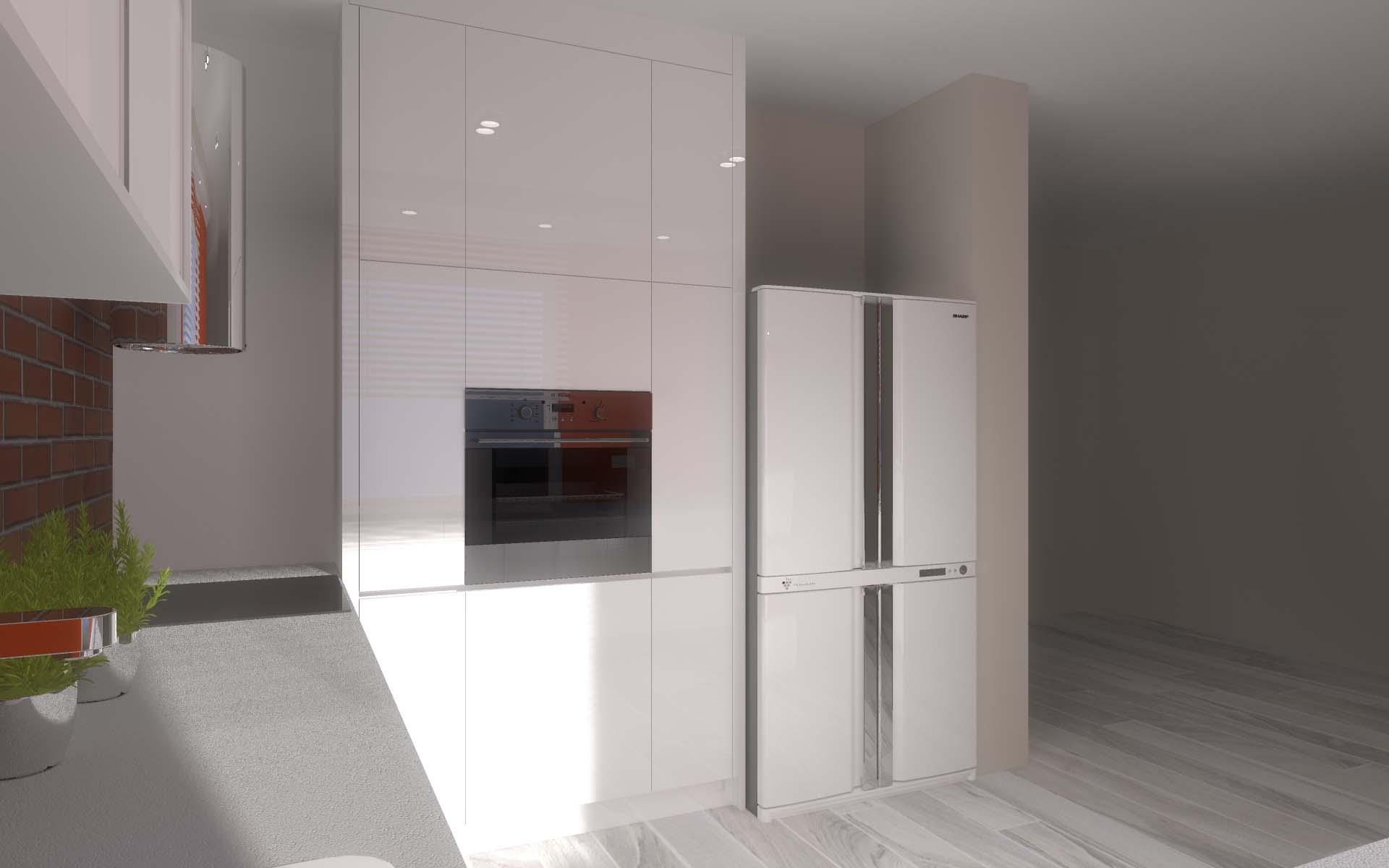 Projekt Kuchni I Lazienki Domu W Goscieradzu Mobiliani Design