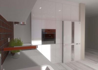 Kuchnia w zabudowie - projekt Mobiliani Design.