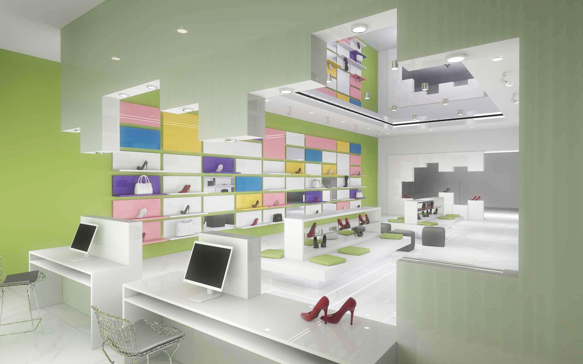 Projektowanie wnętrz butiku w Bydgoszczy