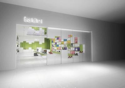Aranżacja wnętrza sklepu od architekta z Mobiliani Design.