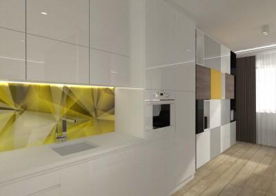 Kuchnia zaprojektowana przez architektów z Mobiliani Design.