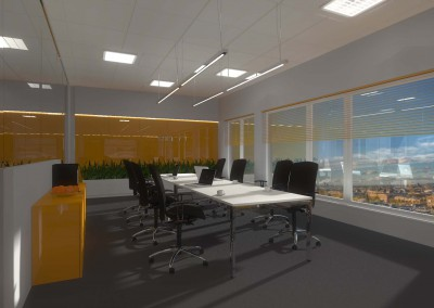 Wnętrze w projekcie przygotowanym przez biuro projektanckie z Bydgoszczy.