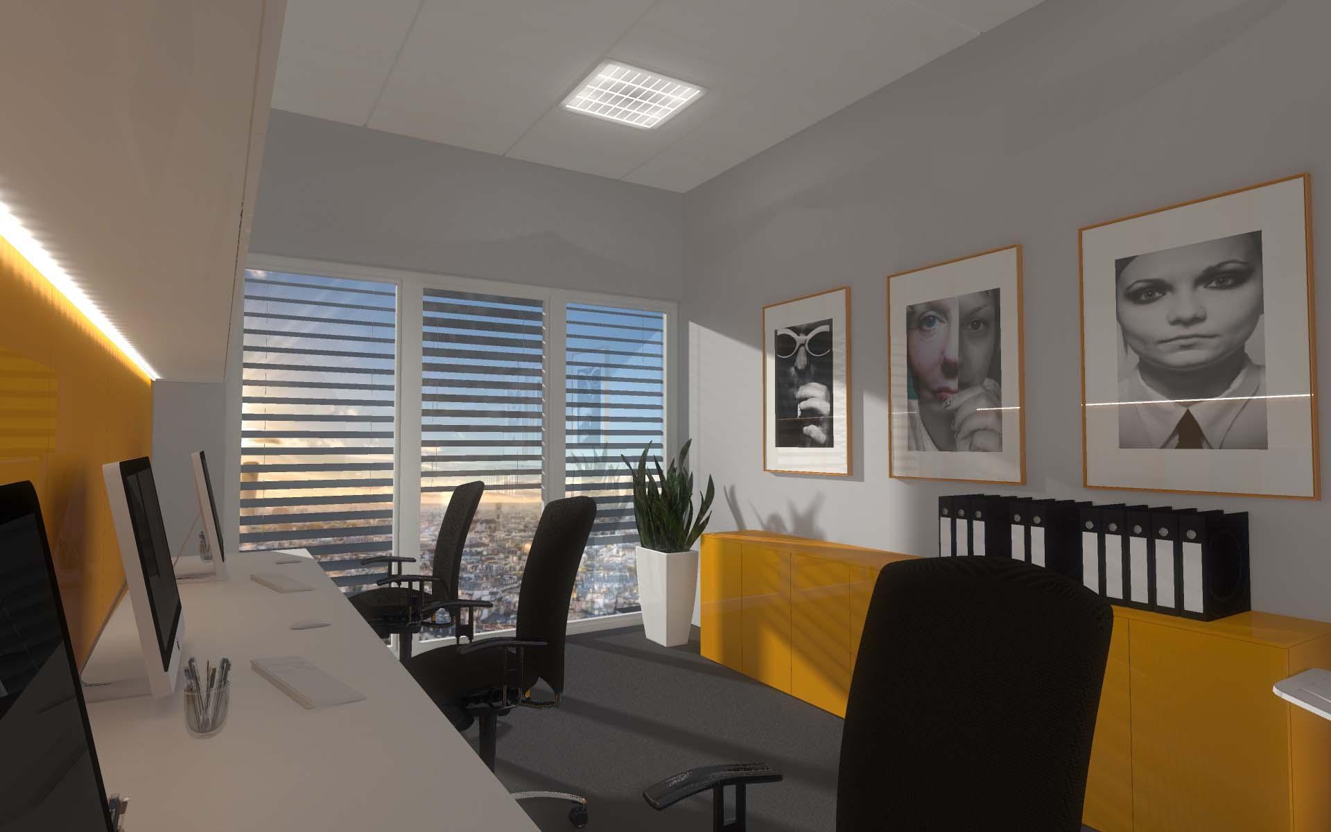 Aranżacja wnętrz biurowych - realizacja od Mobiliani Design