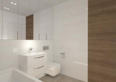 Projekt kolejnej toalety dla hotelu w Bydgoszczy.