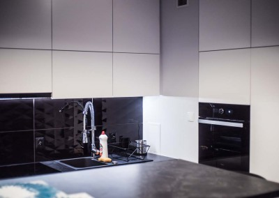 Kuchnia w realizacji z projektu Mobiliani Design.