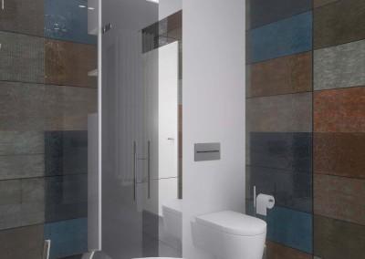 Designerski projekt łazienki od Mobiliani Design.