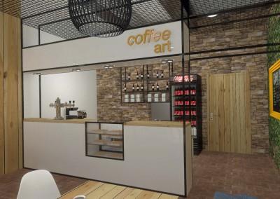 Projekt lady w Coffee Art w Bydgoszczy.