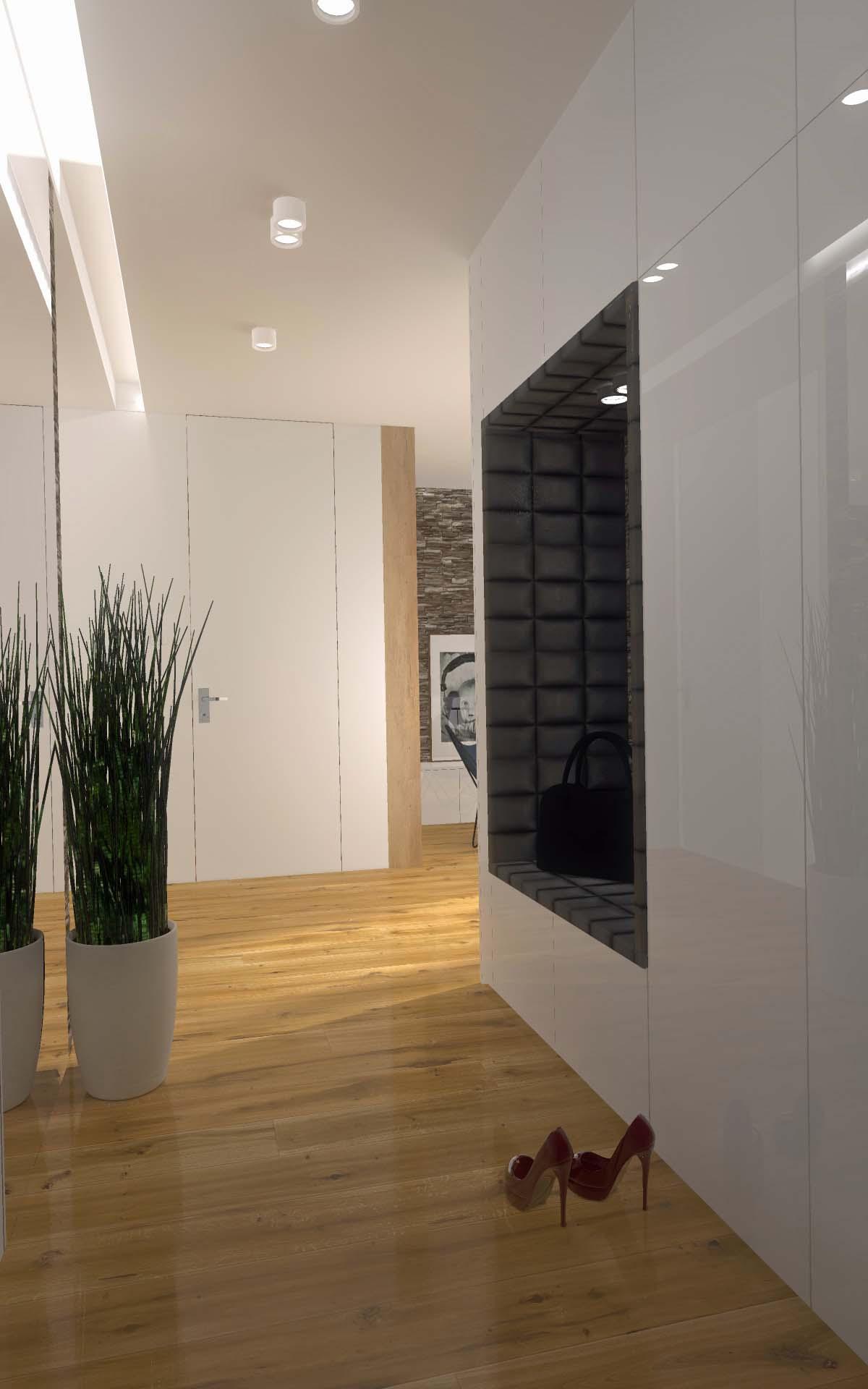 Projekt I Aranżacja Mieszkania Atrium Park Bydgoszcz