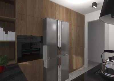 Aranżacja wnętrza kuchni z meblami kuchennymi