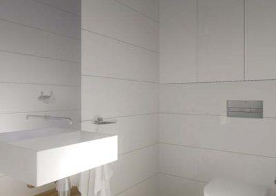Projekt jasnej toalety.