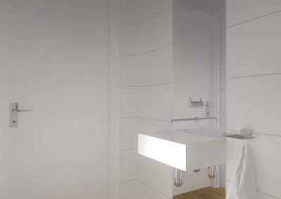 Projektowanie wnętrza od Mobiliani Design - toaleta.