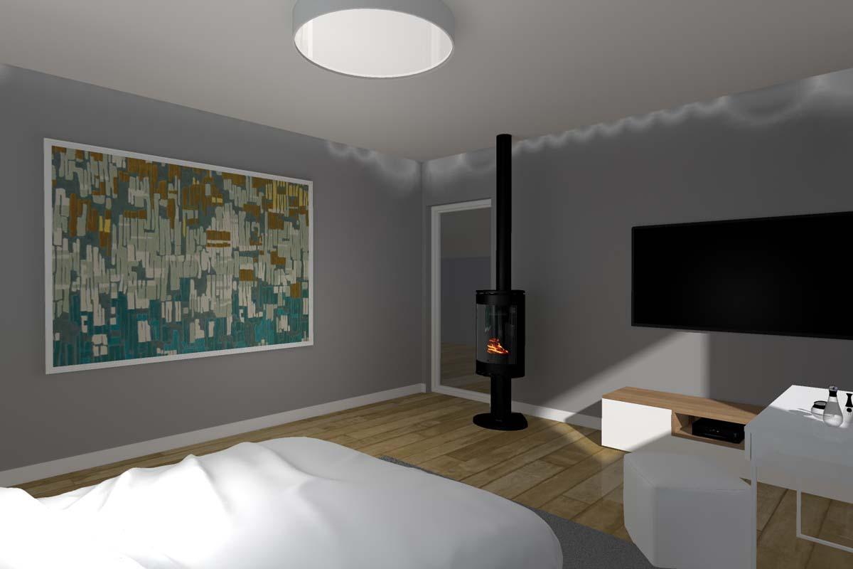 Projekt wnętrza domu w Osówcu - Mobiliani Design Bydgoszcz