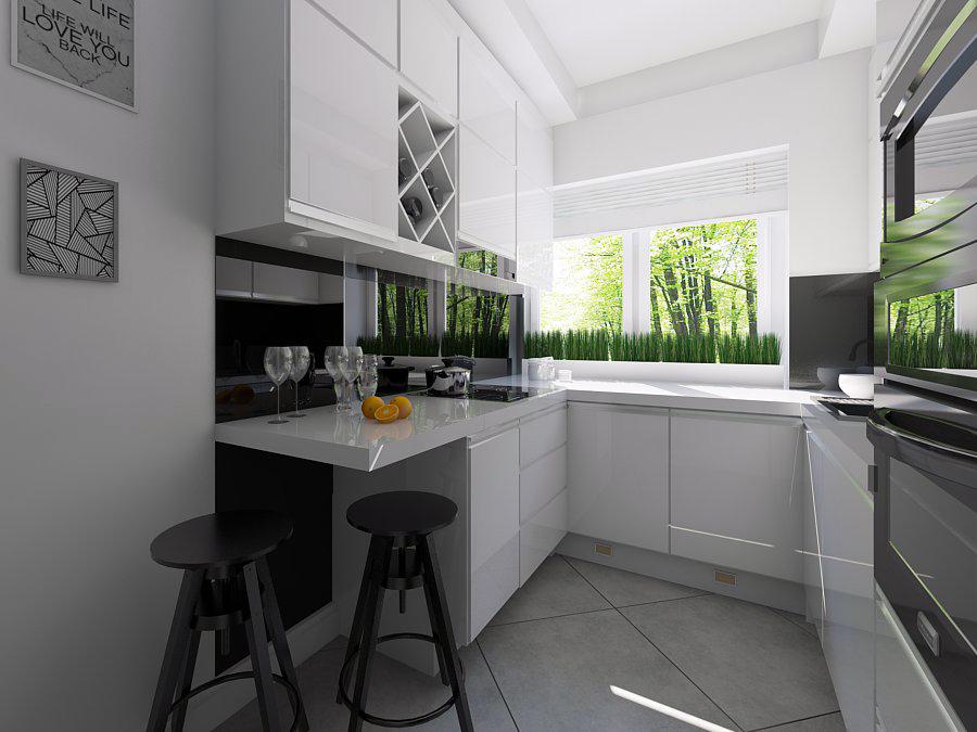 Kuchnia w stylu White Chocolate - Mobiliani Design Bydgoszcz